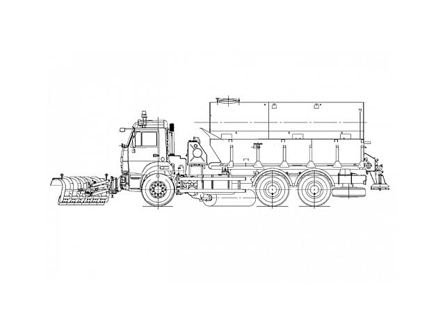 Комбинированная дорожная машина КО-823-10
