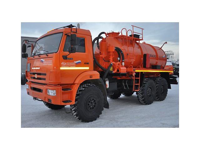 Автоцистерна АКН-10 УЗСТ 6619-С8 на базе шасси КАМАЗ-43118