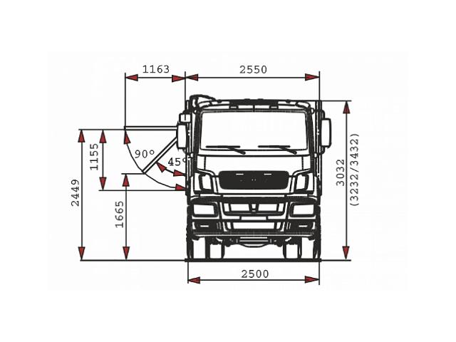 Автомобиль-зерновоз 65207-85002-87