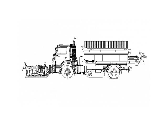 Дорожная машина ЭД-244КМ