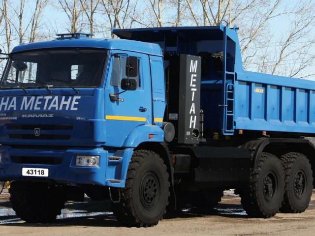 Самосвал 658901-05 (шасси КАМАЗ-43118)