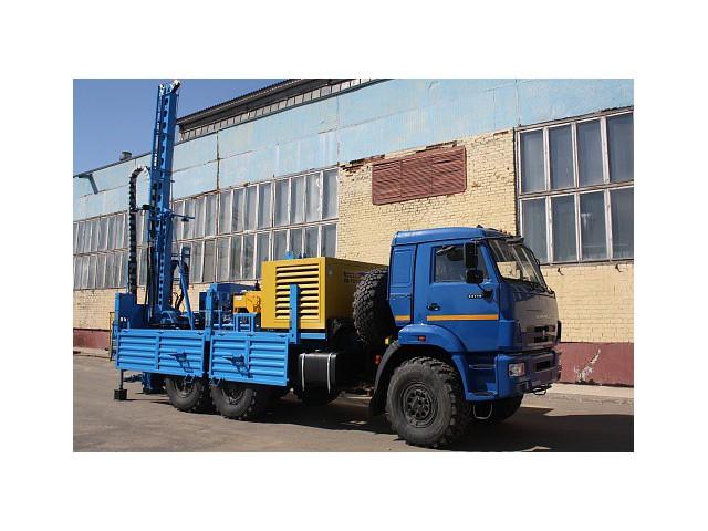 Самоходная буровая установка УГБ на шасси КАМАЗ-43118