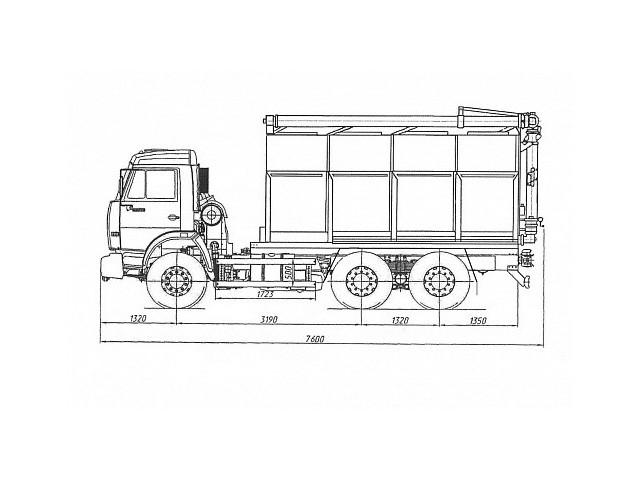 Загрузчик сухих кормов 475101 (ЗСК-15,0)