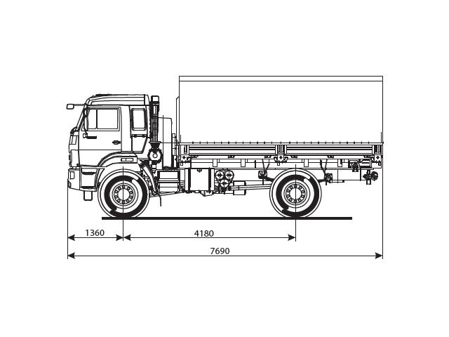 КАМАЗ 43502-66 (D5)
