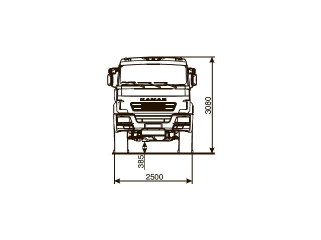 КАМАЗ 53504-50