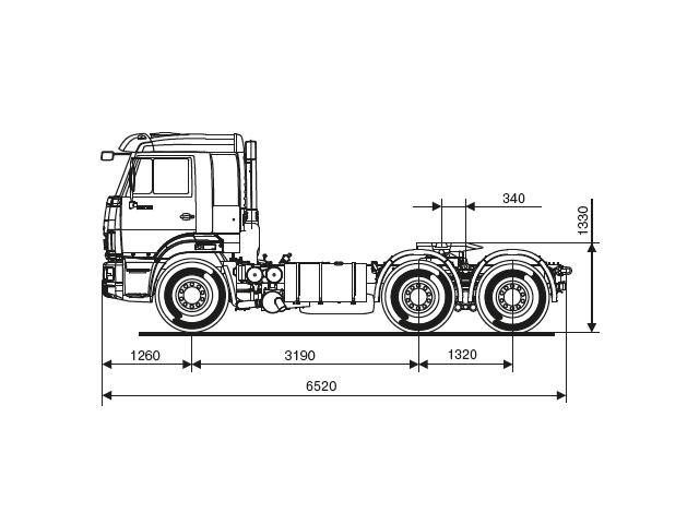 КАМАЗ 65116-48 (A5)
