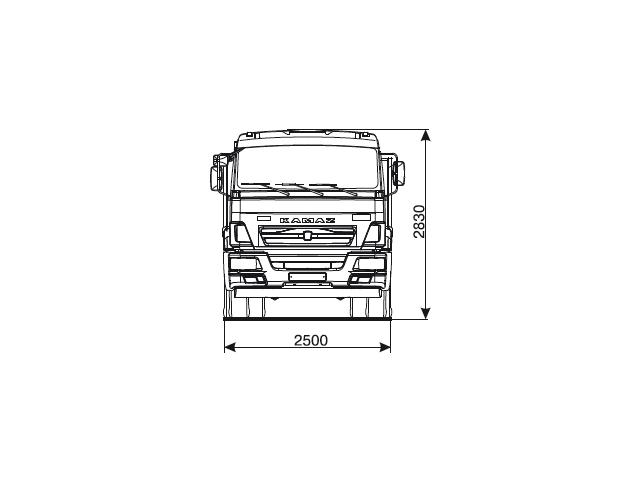 КАМАЗ 43255-69 (G5)