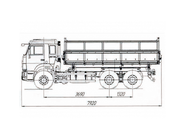 КАМАЗ 45143-50
