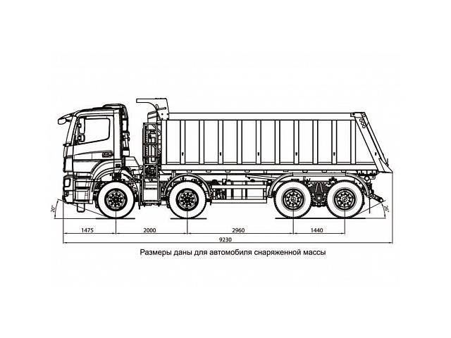 KAMAZ-65201-001-49 (B5) ARX