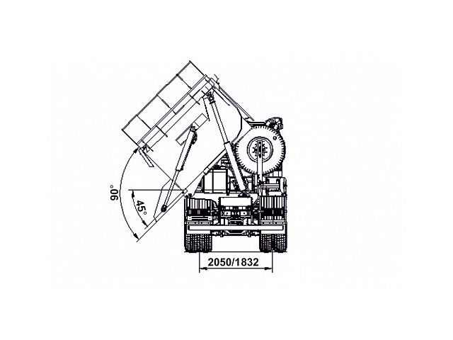 КАМАЗ САМОСВАЛ 65801-68 (T5) С БОКОВОЙ РАЗГРУЗКОЙ