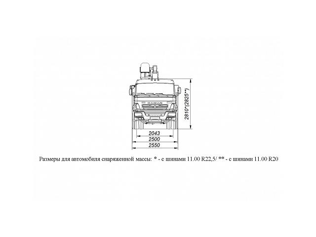БОРТОВОЙ АВТОМОБИЛЬ С КМУ DONG YANG SS1956 НА ШАССИ KAMAZ-65117 (659000-0001403-22)