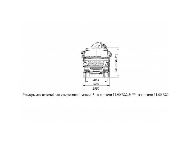 БОРТОВОЙ АВТОМОБИЛЬ С КМУ PALFINGER PK15500A НА ШАССИ KAMAZ-65117 (659000-0000001-22)
