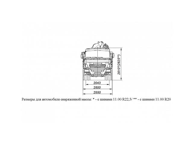 БОРТОВОЙ АВТОМОБИЛЬ С КМУ PALFINGER PK15500A НА ШАССИ KAMAZ-65117 (659000-0000001-21)