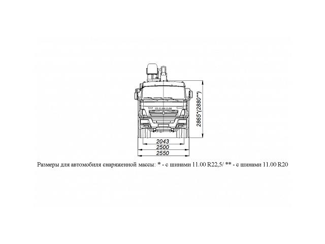 БОРТОВОЙ АВТОМОБИЛЬ С КМУ DONG YANG SS1956 НА ШАССИ KAMAZ-65115 (659000-0001403-24)