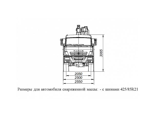 БОРТОВОЙ АВТОМОБИЛЬ С КМУ ГАЛИЧАНИН КМУ-150 НА ШАССИ KAMAZ-43118 (659100-0007000-41)