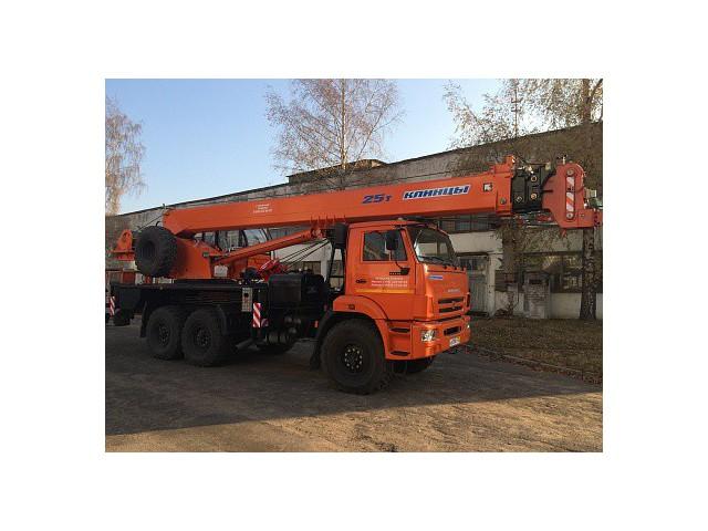 Автомобильный кран ПКС-55713-5К-3