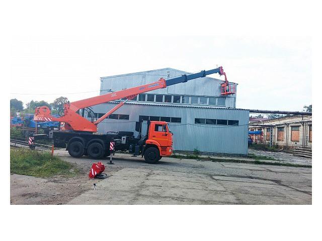 Автомобильный кран ПКС-55713-1К-3