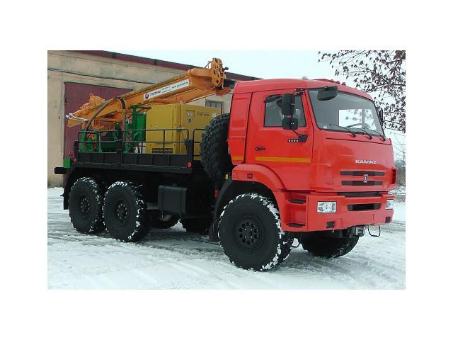 Буровая установка ПБУ-2 на шасси КАМАЗ-5350