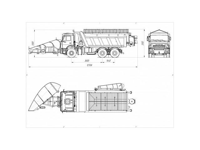 Комбинированная дорожная машина ДМК-55