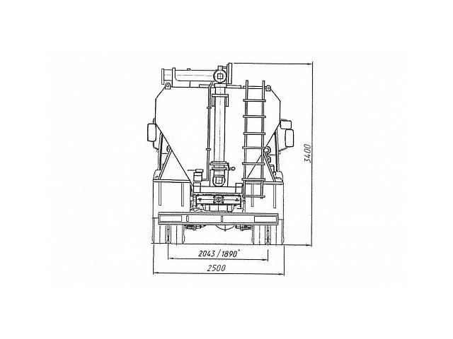 Загрузчик сухих кормов 47510С (ЗСК-20,0)