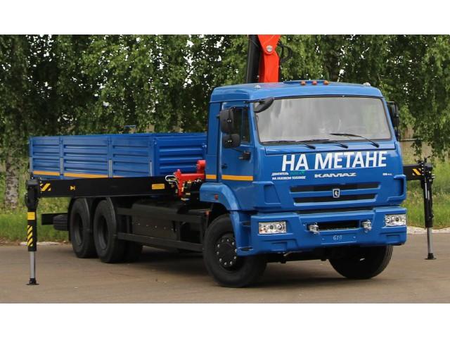 Бортовой KAMAZ-65117-32 с КМУ