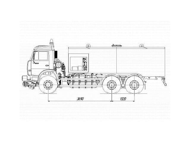 Каналопромывочная машина КО-512Г
