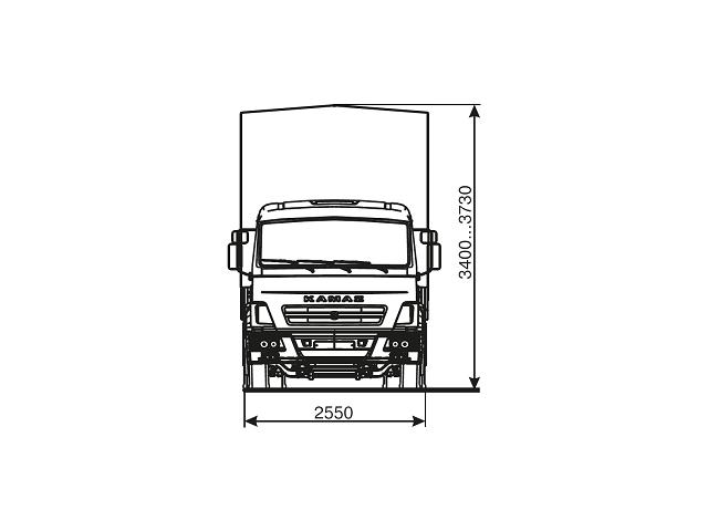 КАМАЗ 4308-69 (G5)