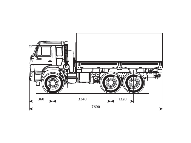 КАМАЗ 5350-66 (D5)