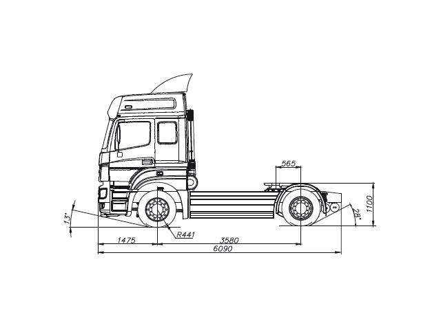 KAMAZ-5490-68 (T5)