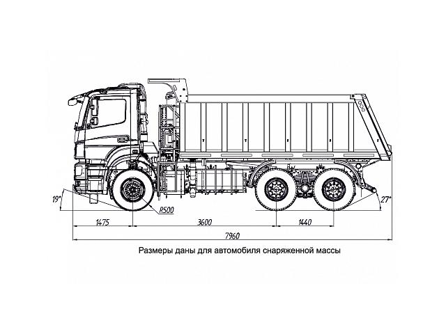 KAMAZ-6520-001-49 (B5) ARX