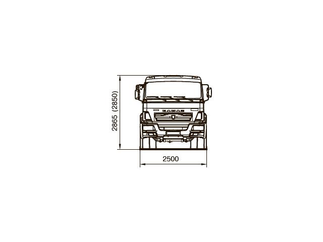 ШАССИ КАМАЗ 65117-48 (А5)
