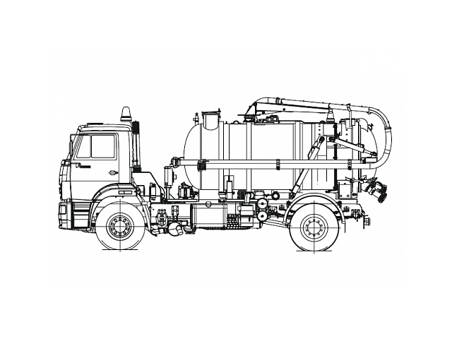 Машина илососная КО-507К