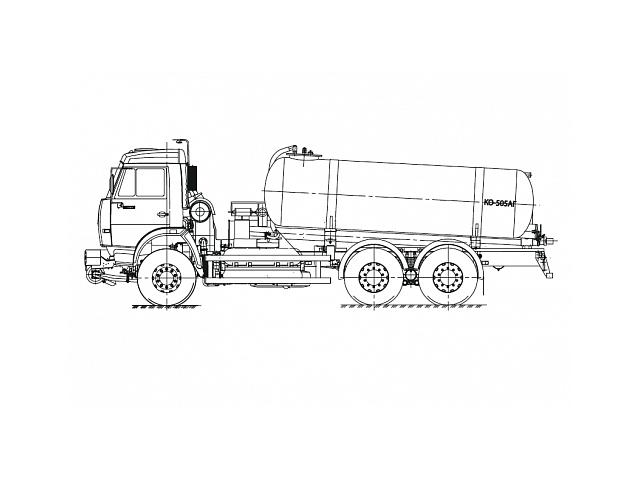 Вакуумная машина КО-505АГ